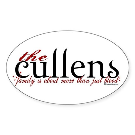 The Cullens Oval Sticker