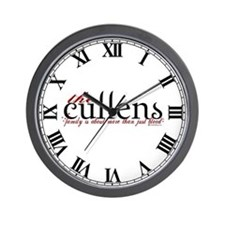 The Cullens Wall Clock