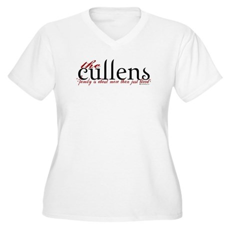 The Cullens Women's Plus Size V-Neck T-Shirt