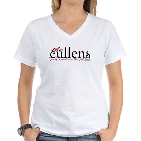 The Cullens Women's V-Neck T-Shirt