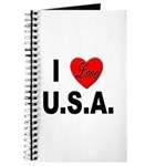 I Love U.S.A. Journal