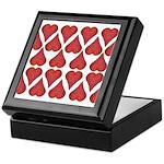 Strawberry Hearts Keepsake Box