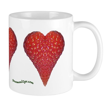 Strawberry Hearts Mug