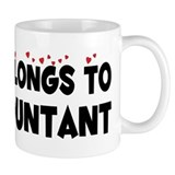 Belongs To An Accountant Coffee Mug