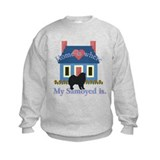 Samoyed Home Is Sweatshirt