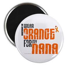 "I Wear Orange For My Nana 6 2.25"" Magnet (100 pack"