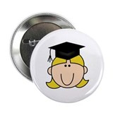 "Graduate Girl 2.25"" Button"