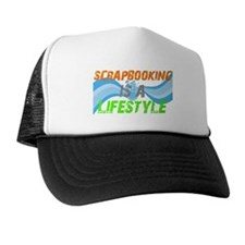 Scrapbooking is a lifestyle Trucker Hat