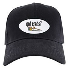 """got crabs?"" Baseball Hat"