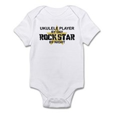 Ukulele Player Rock Star Infant Bodysuit