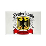 Deutschland Coat of Arms Rectangle Magnet