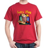 Let's Play Cricket T-Shirt