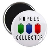 "Rupees Collector - 2.25"" Magnet (100 pack)"