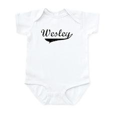 Wesley (vintage) Infant Bodysuit