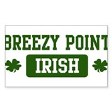 Breezy Point Irish Rectangle Decal