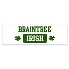 Braintree Irish Bumper Bumper Sticker