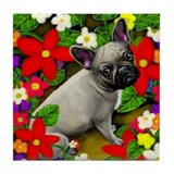 FRENCH BULLDOG DOG Tile Coaster