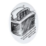 The Flying Toaster Keepsake (Oval)