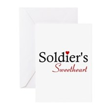 Soldier's Sweetheart Greeting Cards (Pk of 10)