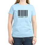 Lobbyist Barcode Women's Light T-Shirt