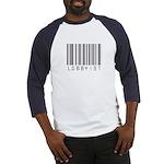 Lobbyist Barcode Baseball Jersey
