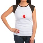Not A Beer Belly! Women's Cap Sleeve T-Shirt