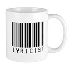 Lyricist Barcode Mug