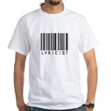 Lyricist Barcode Shirt