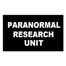 Paranormal Rectangle Decal