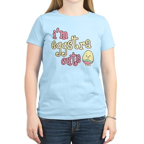 Eggstra Cute Pink Women's Light T-Shirt