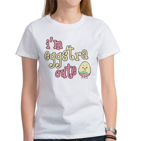 Eggstra Cute Pink Women's T-Shirt