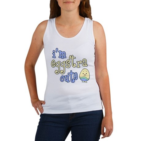 Eggstra Cute Blue Women's Tank Top