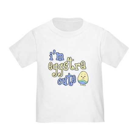 Eggstra Cute Blue Toddler T-Shirt