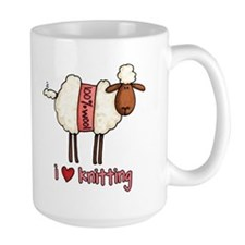 i love knitting Mug