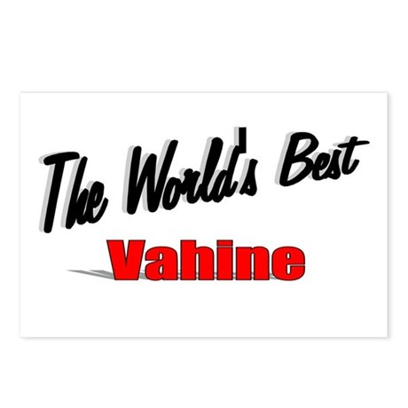 """The World's Best Vahine"" Postcards (Package of 8)"