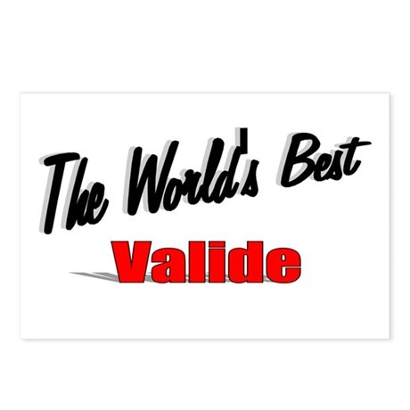 """The World's Best Valide"" Postcards (Package of 8)"