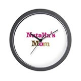 Natalia's Mom Wall Clock