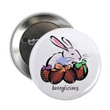 "Easter Bunnylicious 2.25"" Button"
