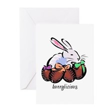 Easter Bunnylicious Greeting Cards (Pk of 20)