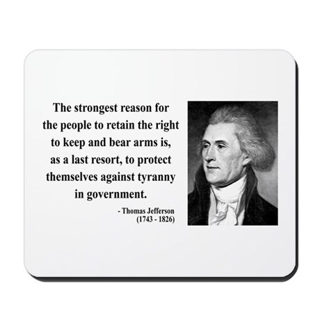 Thomas Jefferson 7 Mousepad