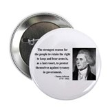 "Thomas Jefferson 7 2.25"" Button (100 pack)"