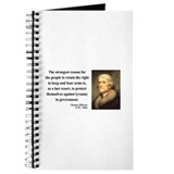 Thomas Jefferson 7 Journal