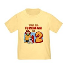 Fireman 2nd Birthday T