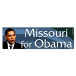 Missouri for Barack Obama bumper sticker