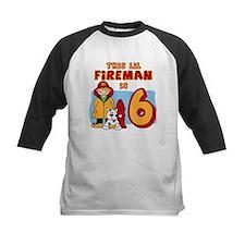 Fireman 6th Birthday Tee