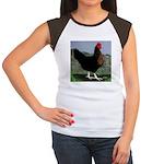 Sex-link Hen Women's Cap Sleeve T-Shirt