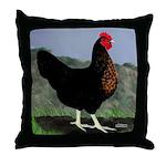 Sex-link Hen Throw Pillow