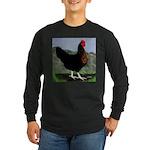 Sex-link Hen Long Sleeve Dark T-Shirt