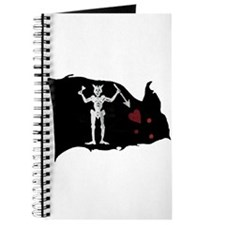 Blackbeard Pirate Flag Journal