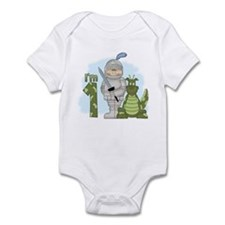 Dragon Knight First Birthday Infant Bodysuit